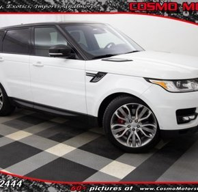 2016 Land Rover Range Rover Sport Supercharged for sale 101108150