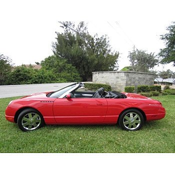 2002 Ford Thunderbird for sale 101109464
