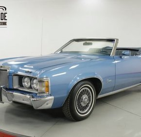 1973 Mercury Cougar for sale 101110213