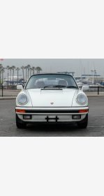 1988 Porsche 911 Carrera Cabriolet for sale 101110241