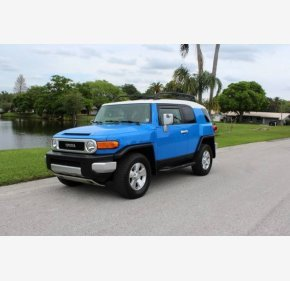 2007 Toyota FJ Cruiser 4WD for sale 101110351