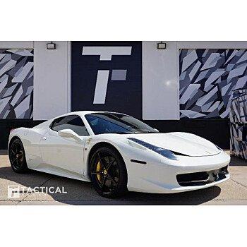 2013 Ferrari 458 Italia Spider for sale 101110675