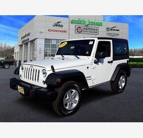 2018 Jeep Wrangler JK 4WD Sport for sale 101110954