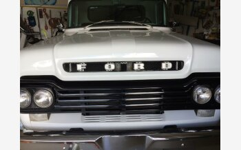 1959 Ford F100 2WD Regular Cab for sale 101112335
