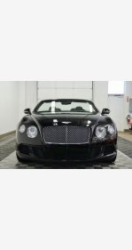 2013 Bentley Continental GT Convertible for sale 101112352