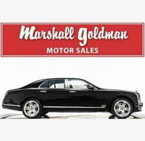 2012 Bentley Mulsanne for sale 101112418