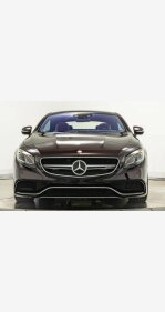 2016 Mercedes-Benz S63 AMG 4MATIC Coupe for sale 101112452