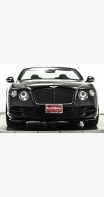 2015 Bentley Continental GTC Speed Convertible for sale 101112468