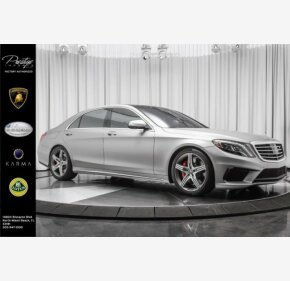 2016 Mercedes-Benz S63 AMG 4MATIC Sedan for sale 101113798
