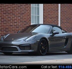 2016 Porsche Boxster Spyder for sale 101113890