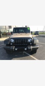 2016 Jeep Wrangler 4WD Unlimited Sport for sale 101114220