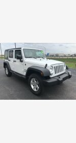 2016 Jeep Wrangler 4WD Unlimited Sport for sale 101114222
