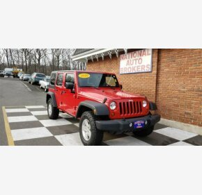 2010 Jeep Wrangler 4WD Unlimited Sport for sale 101114489