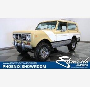 1976 International Harvester Scout for sale 101114608