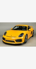 2016 Porsche Cayman GT4 for sale 101115739