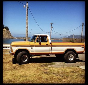 1976 Ford F250 4x4 Regular Cab for sale 101116021