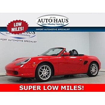 2003 Porsche Boxster for sale 101116408