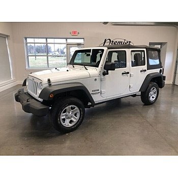 2013 Jeep Wrangler 4WD Unlimited Sport for sale 101116472