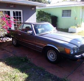 1985 Mercedes-Benz 380SL for sale 101117127
