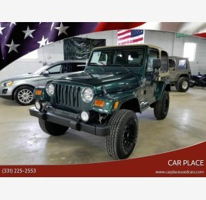 2000 Jeep Wrangler 4WD Sahara for sale 101118359