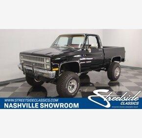 1982 Chevrolet C/K Truck 4x4 Regular Cab 1500 for sale 101118414