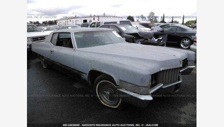 1970 Cadillac De Ville for sale 101119005