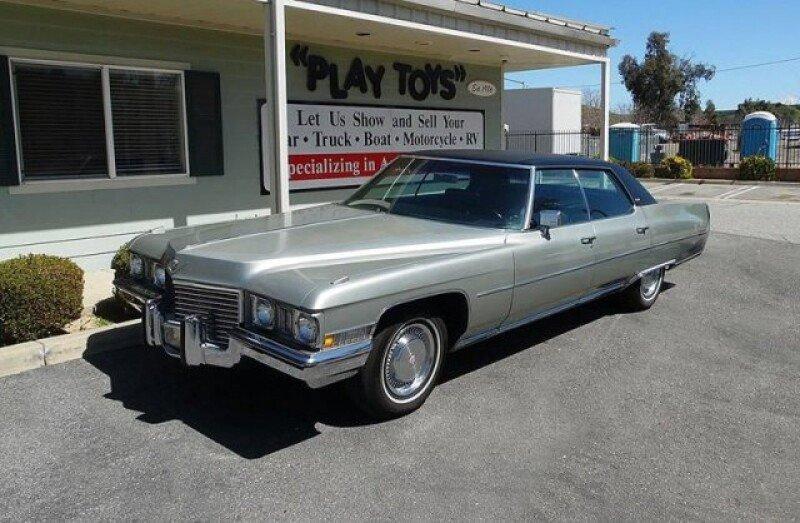 1972 Cadillac De Ville Classics for Sale - Classics on