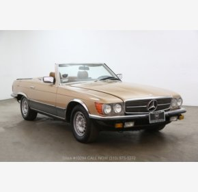 1985 Mercedes-Benz 500SL for sale 101119187
