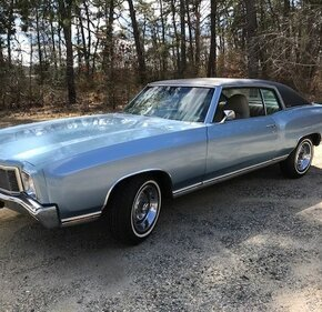 1971 Chevrolet Monte Carlo LS for sale 101119260