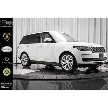 2018 Land Rover Range Rover Supercharged for sale 101119716