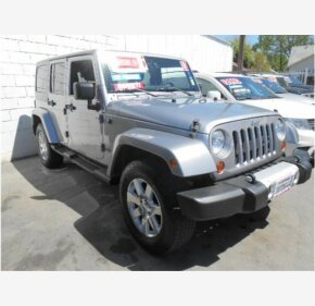 2013 Jeep Wrangler 4WD Unlimited Sahara for sale 101119812