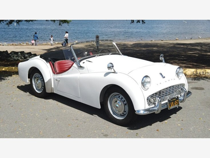 1960 Triumph Tr3a For Sale Near San Diego California 92113
