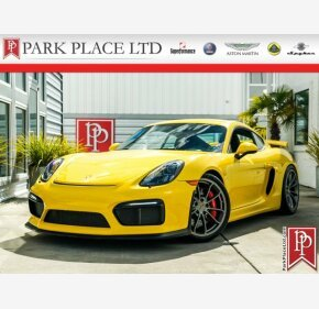 2016 Porsche Cayman GT4 for sale 101121463