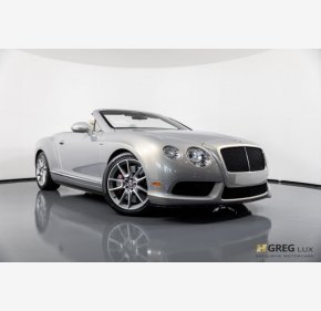 2015 Bentley Continental GT V8 S Convertible for sale 101121844