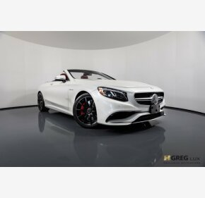 2017 Mercedes-Benz S63 AMG 4MATIC Cabriolet for sale 101121846