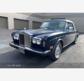 1983 Rolls-Royce Corniche for sale 101121954