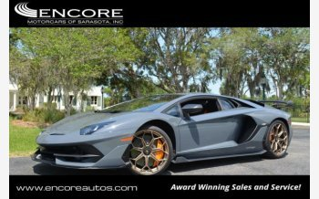 2019 Lamborghini Aventador SVJ Coupe for sale 101122001