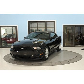 2012 Ford Mustang Convertible for sale 101122392