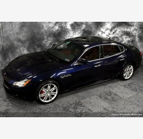2016 Maserati Quattroporte S Q4 for sale 101122409