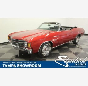 1972 Chevrolet Chevelle for sale 101122542