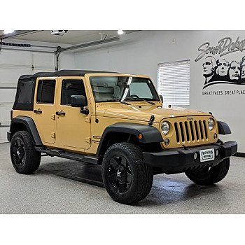 2014 Jeep Wrangler 4WD Unlimited Sport for sale 101123206