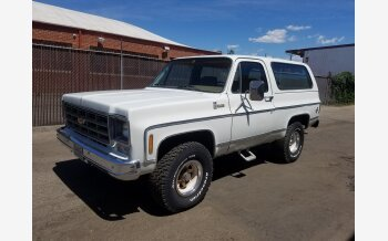 1978 Chevrolet Blazer 4WD 2-Door for sale 101123725