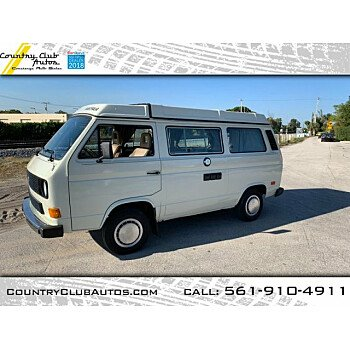 1985 Volkswagen Vanagon Camper for sale 101123734
