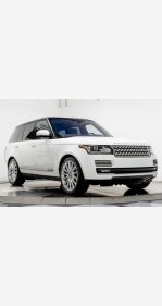 2016 Land Rover Range Rover HSE for sale 101123972