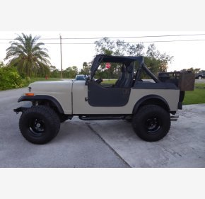 1984 jeep cj 7 for sale 101124968  42 photos