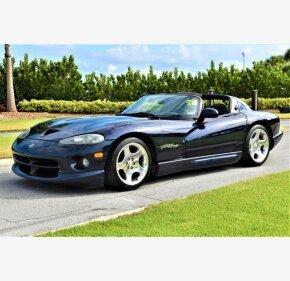 2001 Dodge Viper RT/10 Roadster for sale 101125443
