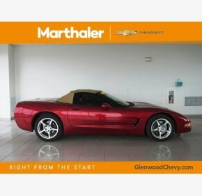 2002 Chevrolet Corvette Convertible for sale 101125980