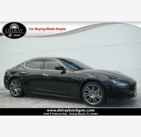 2016 Maserati Ghibli for sale 101126849