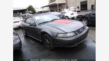 2003 Ford Mustang Convertible for sale 101127056