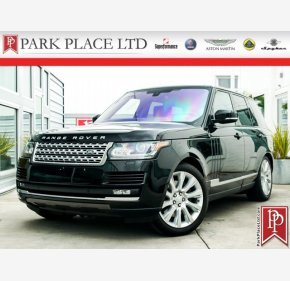 2016 Land Rover Range Rover Supercharged for sale 101127448